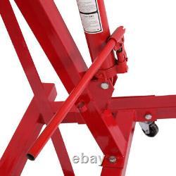 0.52 TON Red 4400lb Heavy Duty Engine Motor Hoist Cherry Picker Shop Crane Lift