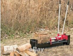 10 Ton Hydraulic Log Splitter Wood Cutter Heavy Duty Firewood Kindling Manual