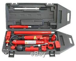 10 Ton Hydraulic Porta Power Ram Auto Body Frame Repair FREE SHPPING