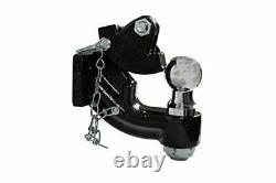 10-Ton Mount Kit Combination Tow Hitch Truck Trailer with 2-5/16 Ball Heavy Duty