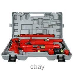 10 Ton Porta Power Hydraulic Jack Body Frame Repair Kit Auto Shop Tool Lift US