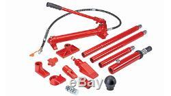 10 ton Super Heavy Duty Portable Hydraulic Equipment Kit Bend Lift Push Straight