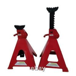 12 Ton Jack Stands Lift Heavy Duty For RC Car Truck Lift Tire Change Lifting
