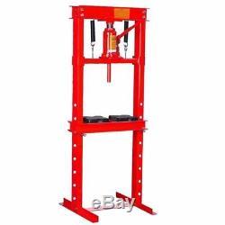 12 ton H-Frame Air Hydraulic Floor Press Shop Press Garage Heavy Duty Machinery