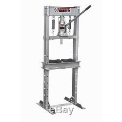 12 ton H-Frame Industrial Heavy Duty Floor Shop Press Garage Shop Tools 24000 lb