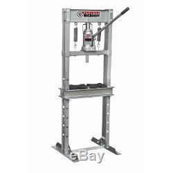 12 ton H-Frame Industrial Heavy Duty Floor Shop Press Hydraulic Jack Press Plate