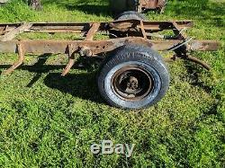 1941 1942 1946 Chevy Pickup Truck 3/4 Ton Frame 8 Lug Heavy Duty Chevrolet