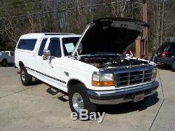 1997 Ford F-250 XLT 1-OWNER 7.3L POWERSTROKE TURBO DIESEL SUPERCAB CAMPER RV