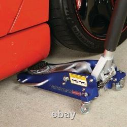 1.5 Ton Floor Jack Rapid Pump Racing Heavy Duty Quality Low Profile Quick Lift