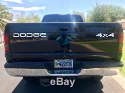 2001 Dodge Ram 2500 2500 Quad Cab Cummins Diesel 4X4