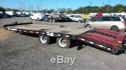 2007 Towmaster T-40LP 20 Ft/Ton Low Deck-Over Trailer w Ramps Heavy Duty Hauler