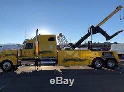 2008 Western Star with 2012 Century 7035 35 Ton Heavy Duty Wrecker