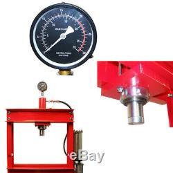 20 Ton H-Frame Industrial Heavy Duty Floor Air Shop Press