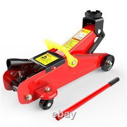 2Ton Low Profile Hydraulic Floor Trolley Jack Quick Lifting Heavy Duty Car Van