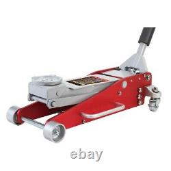 2.5 Ton Low Profile Lightweight Racing Trolley Jack With Dual Piston Heavy Duty