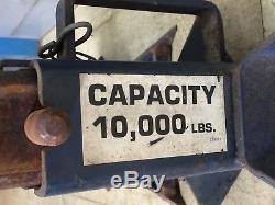2 LINCOLN 5 TON 10,000 LBS Capacity Jack Stands Heavy Duty Auto Automotive Shop