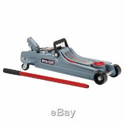 2 Ton Heavy Duty Steel Low Profile Floor Jack Quick Pump Lifting Garage Auto Car