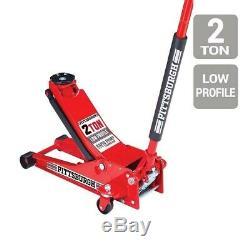 2 Ton Low Profile Car Heavy Duty Floor Jack Rapid Pump Garage Shop Auto Lifting