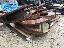 (2) Very Heavy Duty 20 Ton Crane Beam Clamps FREE SHIP With 25 MILES
