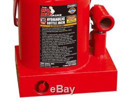 30 Ton Hydraulic Bottle Jack Wide Heavy Duty Base Commercial Industrial Tool