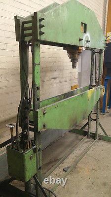 30 ton Hydraulic Shop Press, Heavy Duty, Extra Wide
