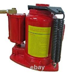 32 Ton Air Hydraulic Bottle Jack Lift Repair Car Truck Semi Heavy Duty