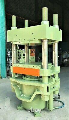 390 Ton Heavy Duty 4 Post Hydraulic 32'' X 32'' Platen Press