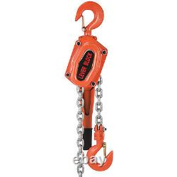 3Ton 10FT Ratcheting Lever Block Chain Hoist Puller Pulley Heavy Duty Best