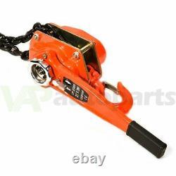 3Ton 6600LBS Lever Block Hoist Lift Ratchet Chain Heavy Duty Puller US Stock