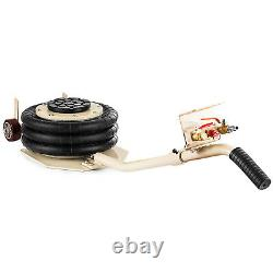 3Ton Triple Bag Air Pneumatic Jack 6600 lbs Quick Jack Heavy Duty Compressed Air