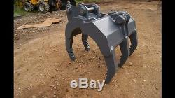 3-4 Ton Heavy Duty Excavator Grapple CAT HYUNDAI CASE VOLVO