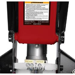 3.5-Ton Fast Lift Heavy-Duty Garage Floor Jack with Swivel Saddle