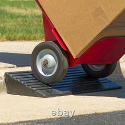 3-7/8 Heavy Duty 5 Ton Portable Modular Rubber Curb Dolly Ramp