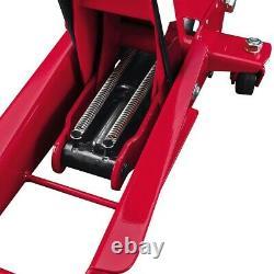 3 TON FLOOR JACK Heavy Duty Steel Rapid Pump Garage Home Auto Shop Car Lifter