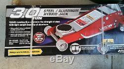 3 Ton Arcan HeavyDuty Steel Ultra LOW PROFILE Floor Jack Rapid Pump Car Lowrider