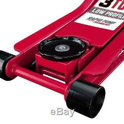3 Ton Car Floor Jack Low Profile Industrial Heavy Duty Rapid Pump Lifts Mechanic
