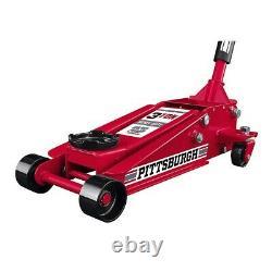 3 Ton Car Heavy Duty Floor Jack Rapid Pump Garage Shop Auto Lifting Automotive