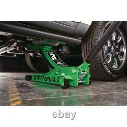3 Ton Floor Jack Low Profile Heavy Duty Rapid Pump DAYTONA 0.5 1 1.5 2 2.5 t NEW