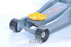 3 Ton Floor Jack Service Arcan Heavy Duty Steel Low Profile Rapid Pump Car