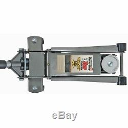 3 Ton Floor Jack Steel Ultra Low Profile Heavy Duty Rapid Pump Car Lowrider Show