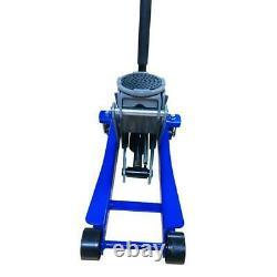 3 Ton Heavy Duty Hydraulic Floor Jack for Truck Trailer Car Steel Blue USA