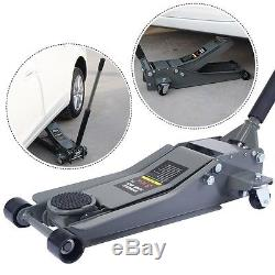 3 Ton Heavy Duty Steel Low Profile Lift Floor Jack Rapid Pump Show Car Lowrider