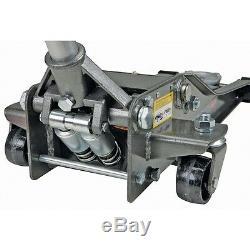 3 Ton Heavy Duty Steel Ultra LOW PROFILE Floor Jack Rapid Pump Show Car Lowrider
