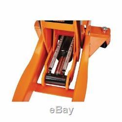 3 Ton Heavy Duty Steel Ultra Low Profile Floor Jack Rapid Pump Car Pump Lowrider
