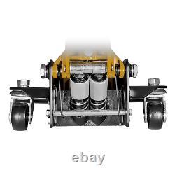 3 Ton Low Profile Floor Jack Built in Foot Pump Heavy Duty Garage Trucks Cars