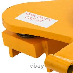 3 Ton Machinery Skate Mover 360° Rotation Smooth Heavy Duty Machinery Mover