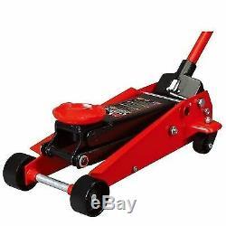 3-Ton Steel Floor Jack Heavy Duty Car Vehicle Hydraulic Lift Garage Shop T83002