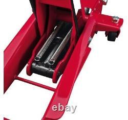 3 Ton Steel Heavy Duty Floor Jack with Rapid Pump Garage Shop Home Lifting Jack