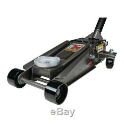 3 Ton Steel Heavy Duty Floor Jack with Rapid Pump Great For Shop/Garage/Home Use