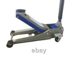 3 Ton Trolley Jack Floor Heavy Duty Ultra Low 75mm Profile Rapid Pump Car Garage